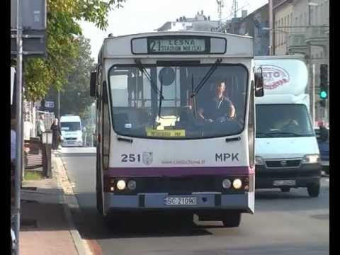 Autobusy JELCZ M11 W Częstochowie.