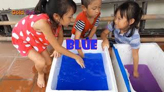 Learn Color With Color Basin Finge Family Song Nursery Rhymes Learn Color For Children Kids Toddlers