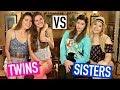 TWINS vs SISTERS CHALLENGE  - Nina and Randa