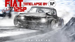 Polski Fiat 125p Virtual Tuning TIMELAPSE by RP:DESIGN