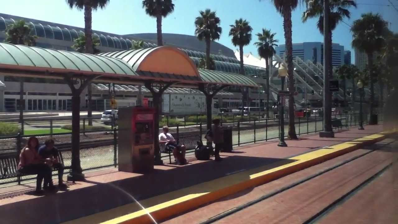new green line trolley service downtown san diego youtube. Black Bedroom Furniture Sets. Home Design Ideas