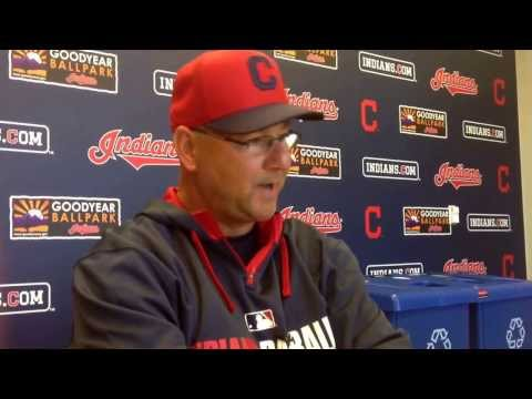 Indians manager Terry Francona on Lonnie Chisenhall, Ryan Raburn, pitching staff