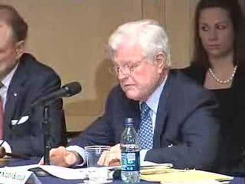 ted kennedy chappaquiddick. Participants at the hearing were Arlen Specter, Ted Kennedy, Hazleton Mayor Lou Barletta, New York City Mayor Michael Bloomberg, and Philadelphia Police