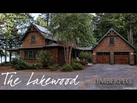 Timberpeg Lakewood Timber Frame Home Youtube