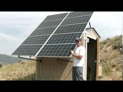 Living Off The Grid 2 Our Solar Array In Off Grid Solar