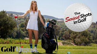 Anna Rawson Shows You How to Hit a Power Draw with a Driver-Sexiest Shots in Golf-Golf Digest