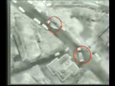 Israeli army drone video of Hezbollah activity