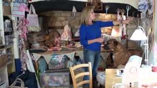 www.sew.co.uk Debbie Shores sewing room updated