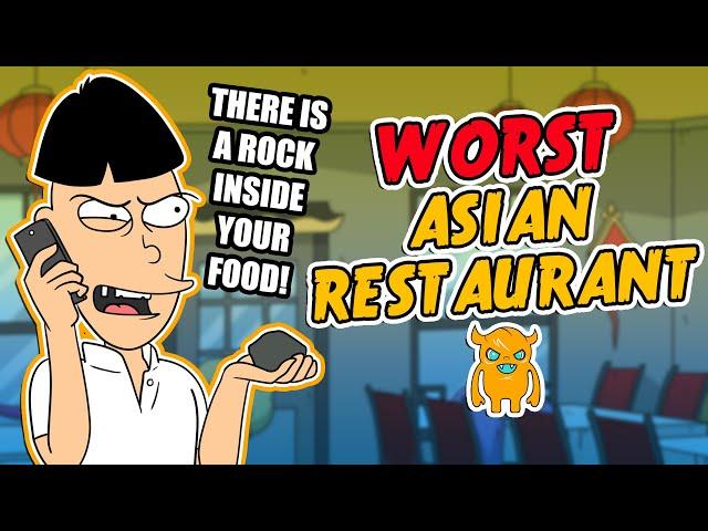 The Worlds Worst Asian Restaurant crazy owner!