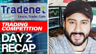 Boris Aguilar Up +$5,307 - Tradenet Competition Recap - Day 2