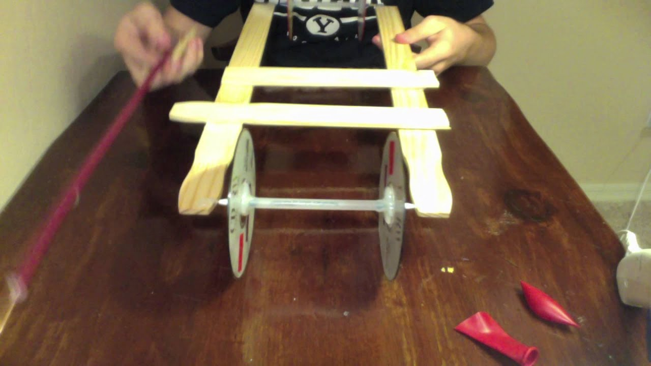 Easiest Mousetrap Car