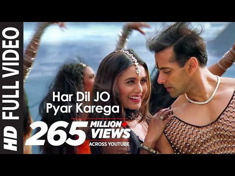 har Dil Jo Pyar Karega Title Song Ft Salman Khan, Rani Mukherjee video