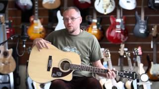 Prezentare chitara electro-acustica Epiphone AJ 220SCE