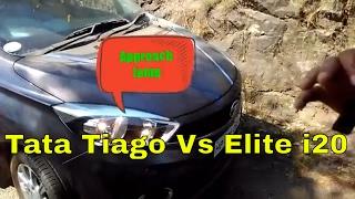 Tata tiago approach lamp vs Elite i20 Follow/Guide me home feature Explained for tiago and elite i20