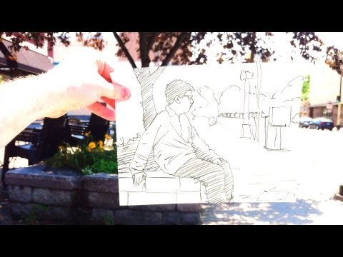 How to Draw a Picture within a Scene - A PITW Shorty