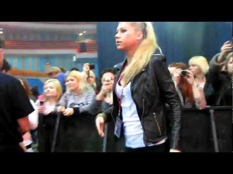 Anna Kournikova in Moscow at a concert by Enrique Iglesias