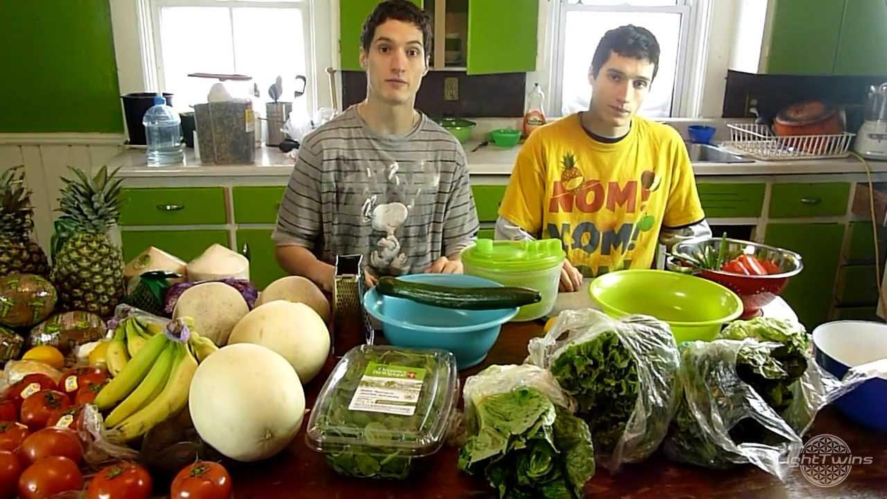 Raw Vegan Recipe Bodybuilding Salad Youtube