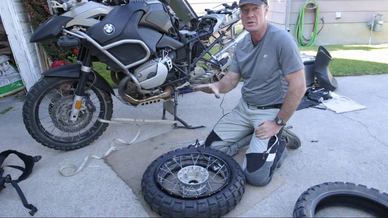 Motorcycle Tyre Replacement