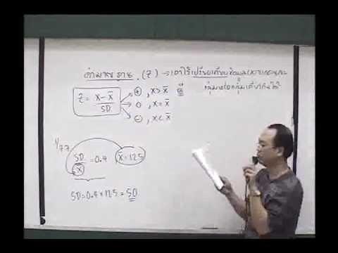 Normal Distribution การแจกแจงแบบปกติ ม.6 [1-2] By www.tutoroui.com