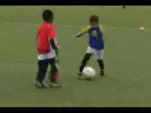 Madin Mohammad 6 Year Old Next Cristiano Ronaldo 08/09 Video