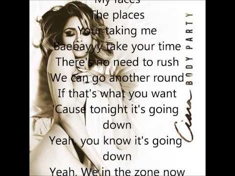 Ciara - Body Party With Lyrics