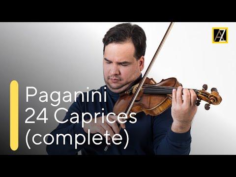 Паганини Никколо - 24 каприса для скрипки соло Каприс No 22