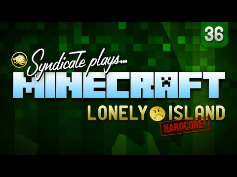 Minecraft: Storage Facility Creation - Lonely Island (Hardcore) - Part 36