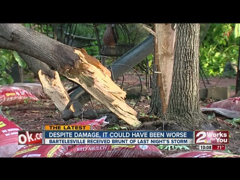 Bartlesville Cleanup Underway After Storms