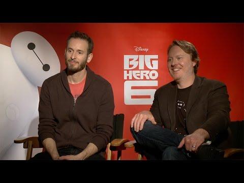 Chris Williams & Don Hall Interview: Disney's Big Hero 6