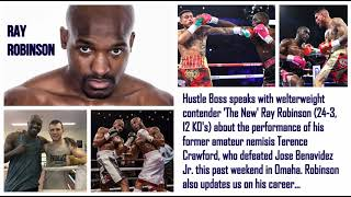 Terence Crawford's former amateur nemesis, Ray Robinson, keeps it real on 'Bud' and more