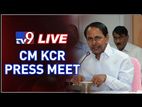 Telangana CM KCR Press Meet LIVE || Pragathi Bhavan, Hyderabad - TV9