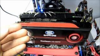MSI 870A FUZION Lucid Hydralogix Multi GPU 3DMark Vantage Demo Linus Tech Tips
