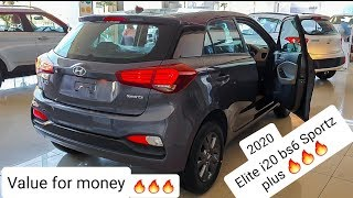 Elite i20 sportz plus BS6 2020 detailed review with on road price | Features | All new bs6 premium