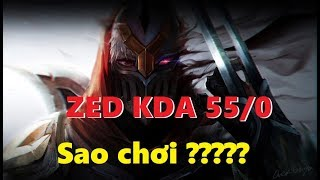 Zed 55/0 opponent team admiration and surrender
