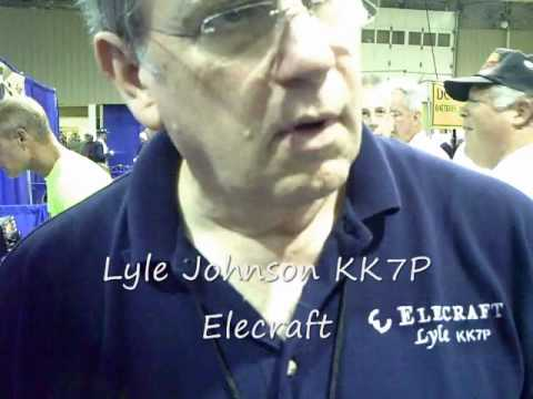 Elecraft K3 transceiver  Victor Goncharsky has question for Lyle at Dayton Hamvention 2009
