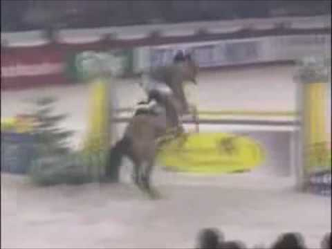 Horse falls - Fuck you, fuck you very very much!