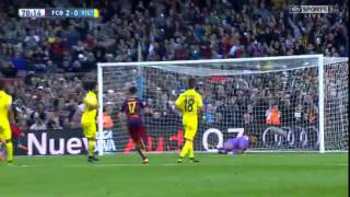 Barcelona vs Villarreal 3-0 All Goals Highlight | 08-11-15 HD
