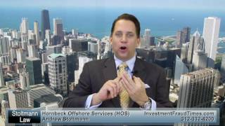 What Can be Done About Hornbeck Offshore Services (HOS) Losses 312-332-4200