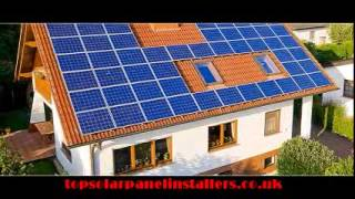 Solar panels installation by installers Wilmslow, Alderley Edge,