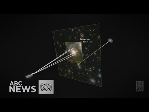 How a star explosion tests Einstein's Theory of Relativity