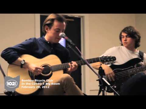 Bombay Bicycle Club in the CD102.5 Big Room