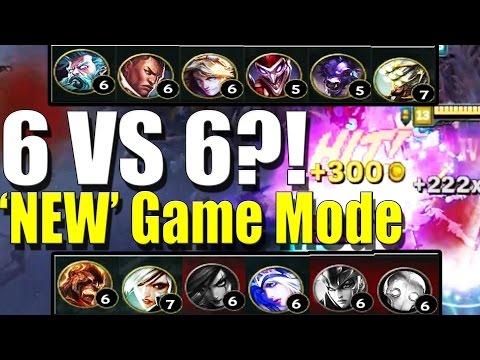 6V6 HEXAKILL - 'New' Rotating Game Mode Queue - League of Legends