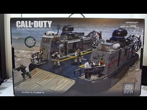 Mega Bloks Call of Duty HOVERCRAFT review