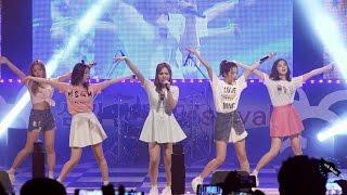 레드벨벳 Red Velvet 행복 Happiness 무대중 조이 인이어 감전사고 160526