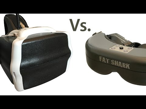 HeadPlay Vs Fat Shark FPV Goggles -  Which One To Go With?