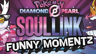 FUNNIEST MOMENTS - Pokémon Diamond & Pearl Soul Link Randomized Nuzlocke w/ @TheKingNappy!