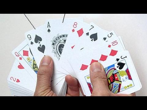 Крутой и легкий фокус с картами!!!!!!