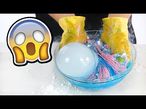What Happens If You put Dry Ice into Slime