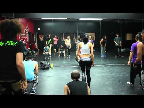 Behind The Scenes Lmfao Party Rock Anthem Rehearsal With Quest Crew video