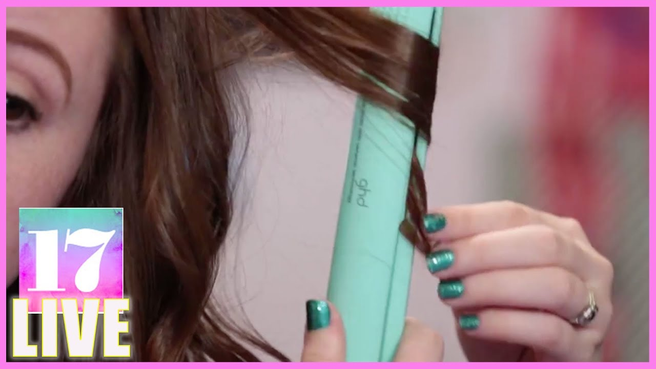 Curls with a Flat Iron | Beauty Lab